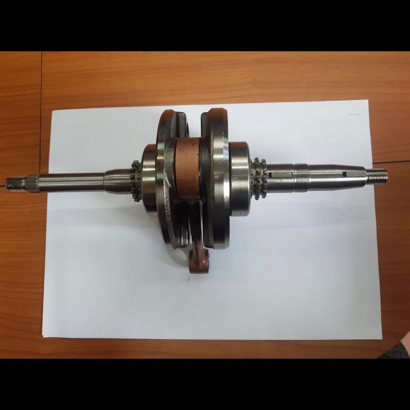 GY6 crankshaft 64.4mm +6.6mm longer stroke - 0446014