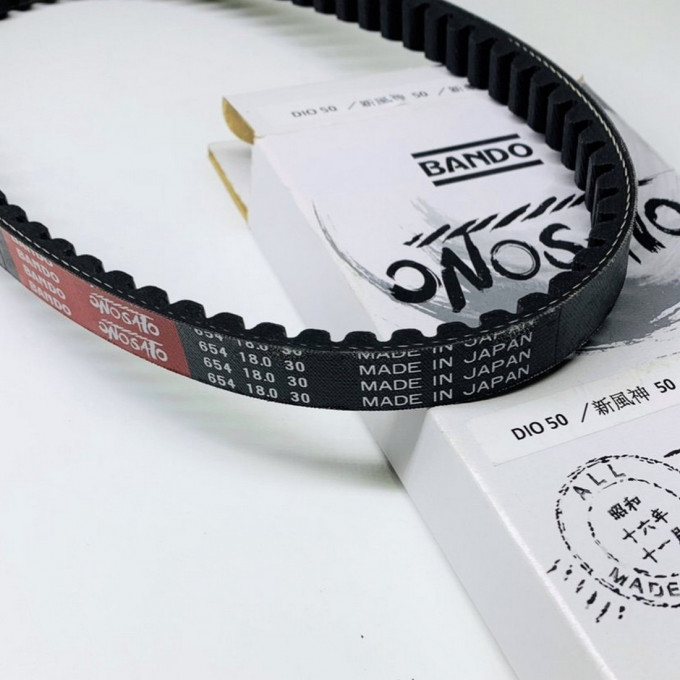 Belt 654/18/30mm for DIO50 - 0222078