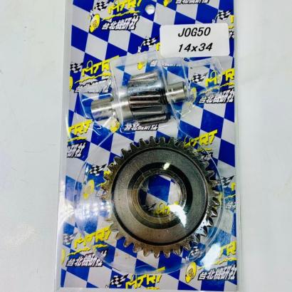 Transmission gear 14/34T for JOG50 3KJ - 0107034