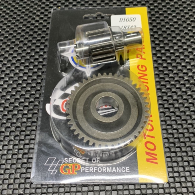 Gear 18/42T for DIO50 - 0222091