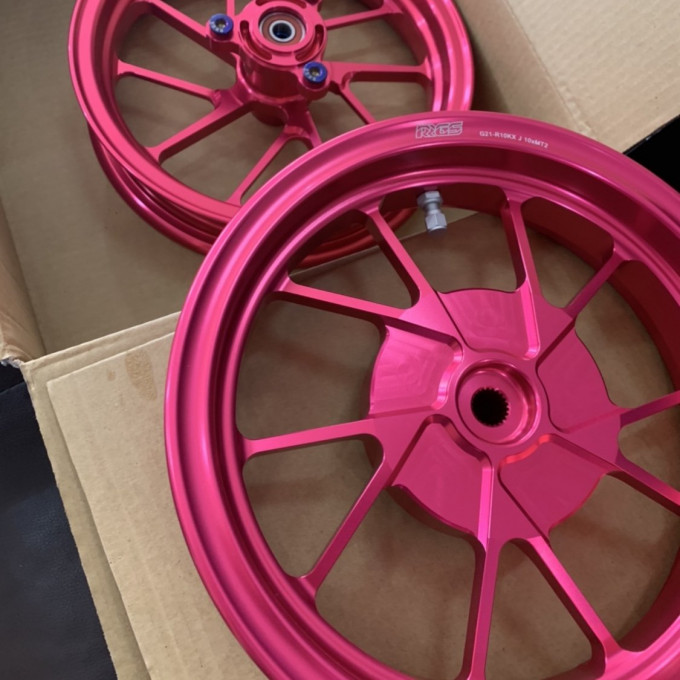 Forged rims 10 inch for DIO50 JISO - 0222093