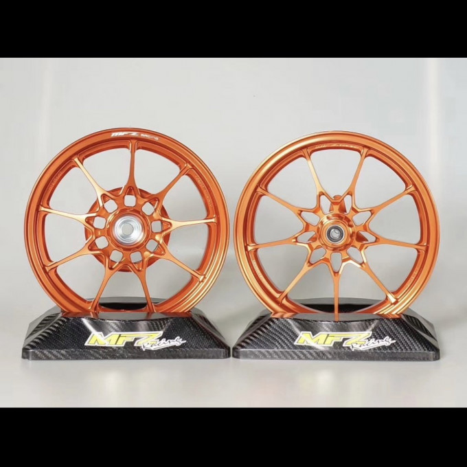 Forged rims 10 inch for DIO50 by MFZ -