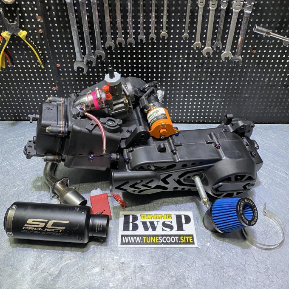 GY6 BUGGY ENGINE 182CC 157QMJ - 0651001