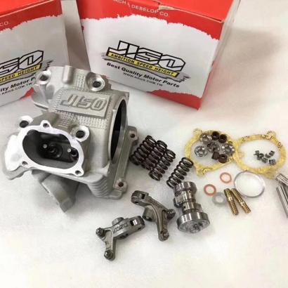 JISO BWS125 CYGNUS125 4 valves cylinder head EX21.5 / IN23.5 - 0103004