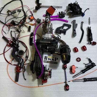 GY6 ENGINE KIT 180CC FOUR VALVES L/C FOR HONDA RUCKUS ZOOMER - 0226020-02