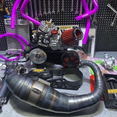 Engine DIO AF18 125cc chrome dition -