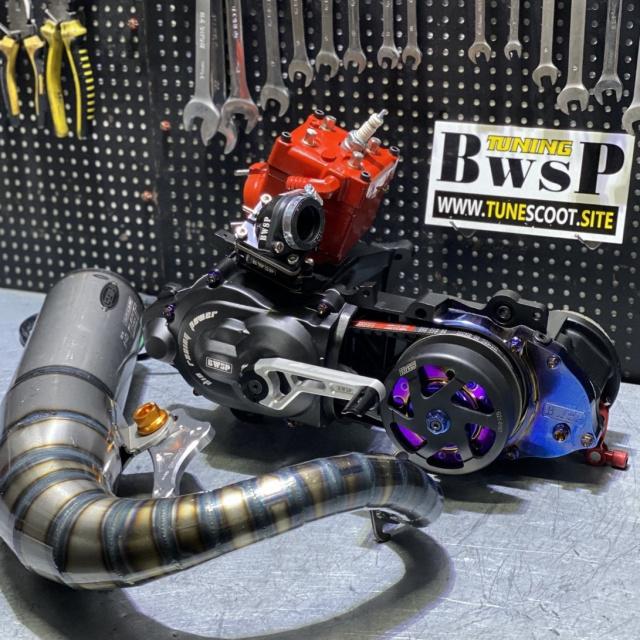 DIO AF18 125cc engine BWSP BLACK EAGLE EDITION - 0222107
