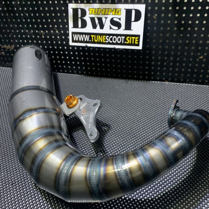 Exhaust pipe JISO for DIO50 - 0222108