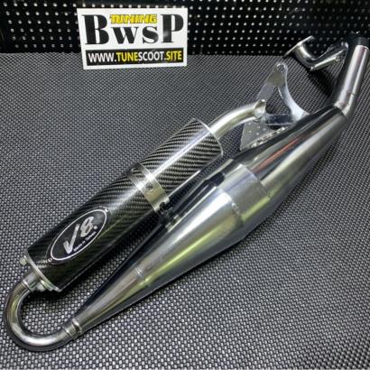 JOG50 JOG90 racing exhaust pipe V8 - 0107030
