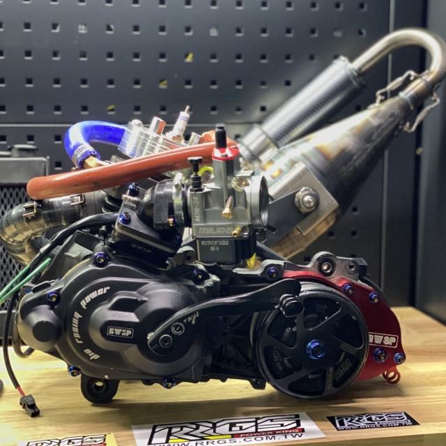 DIO AF18 135CC ENGINE KIT RRGS BLACK EDITION - 0222173