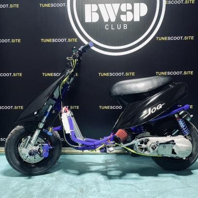 Scooter Yamaha JOG50 110cc with water cooling - lc-jog-110