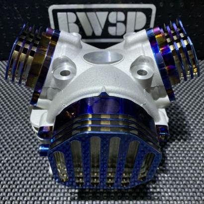 Cylinder head 4 valves for BWS125 CYGNUS125 5ML EX19/IN21 - 0103060