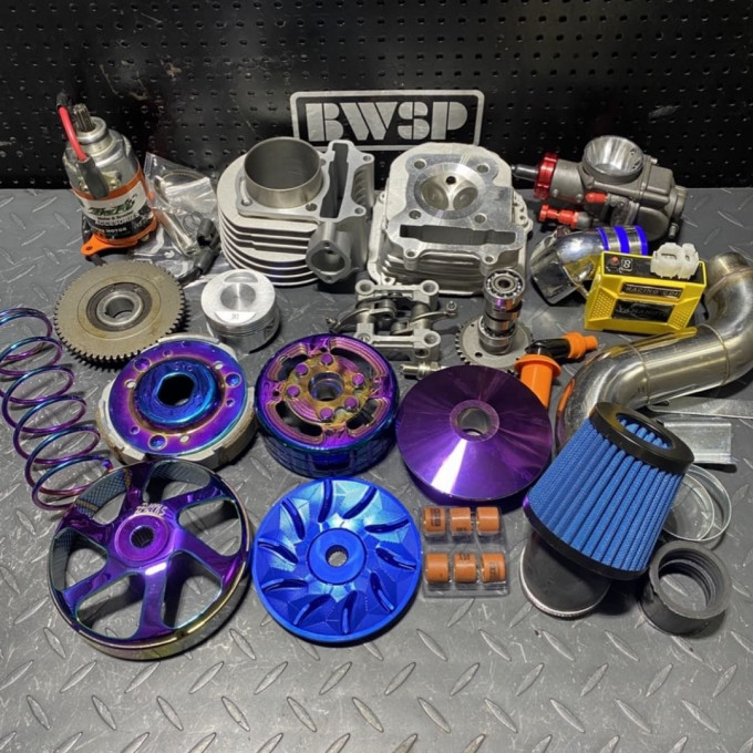 Big bore kit for GY6 engines 160-180cc -